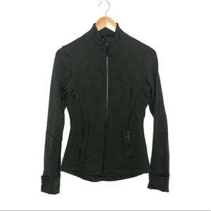 Lululemon Define Jacket Gator Green Size 6